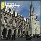 Louisiana Calendar 2022: 18 Month Calendar Louisiana, Square Calendar 2022, Cute Gift Idea For Louisiana Lovers Women & Men, Size 8.5 x 8.5 Inch Monthly