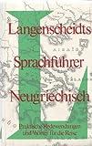 Langenscheidts Sprachführer Neugriechisch.
