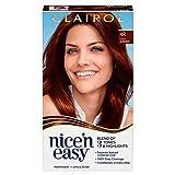 Clairol Nice'n Easy Permanent Hair Dye, 4R Dark Auburn Hair Color, 1 Count