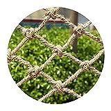 Lanrui Redes Decorativas de jardín, Redes de Seguridad de la partición de la Cara, Neta Protectora del balcón, Redes de la Cerca de Escalada, Hamaca de Swing Playground Mano Tejida Redes Red Gatos