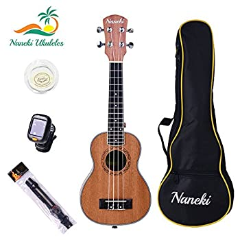 Naneki Soprano Ukulele Bundle. World