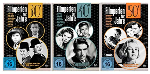 Die Filmperlen Box Set Collection mit 38 Klassikern der 30er, 40er und 50er Jahre