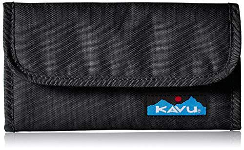KAVU Women's Mondo Spender Wallet,Jet Black,One Siz