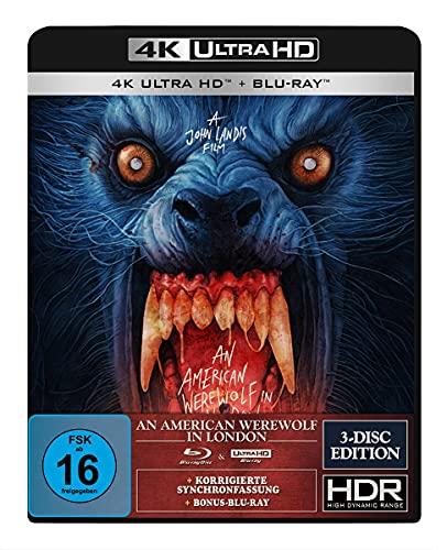 An American Werewolf in London - 3-Disc-Special Edition (4K Ultra HD) (+ Blu-ray 2D) (+ Bonus-Blu-ray) (Gabz Artwork)