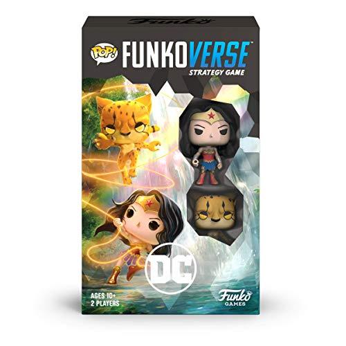 Funko 45893 POP Funkoverse: DC 102-Expandalone Strategy Board Game, Multicolour