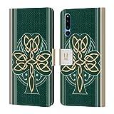 Head Case Designs Dara Knot Celtic Shamrock Leather Book