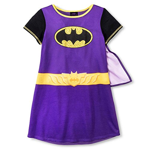 Yankee Toy Box Batgirl Girls Nightgown Dorm with Cape (Little Kid/Big Kid)
