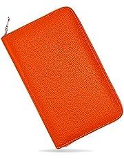 [RAFFINA] 通帳ケース 磁気防止 大容量 本革 通帳入れ パスポートケース 9カラー