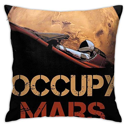 Occupy Mars Fashion Kissenbezüge, dekorativer Kissenbezug, 45,7 x 45,7 cm