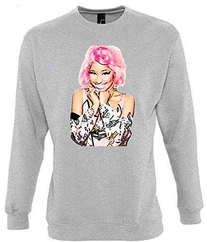 Nicki Minaj Funny Mens & Ladies / Herren & Damen Unisex Sweatshirts (S