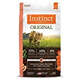Instinct Original Grain Free Recipe with Real Salmon Natural Dry Cat Food by Nature's Variety, 4.5 lb. Bag
