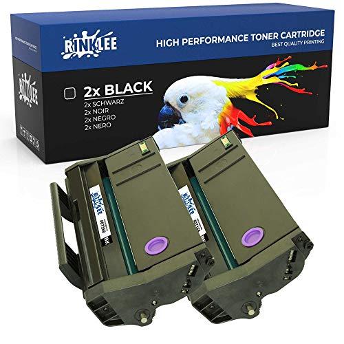 RINKLEE 407166 Cartucho de Toner Compatible para Ricoh SP100 SP112 SP100e SP100SF SP100SFe SP100SU SP100SUe SP110 SP112e SP112SF SP112SFe SP112SU SP112SUe | Alta Capacidad 1200 Páginas | Negro