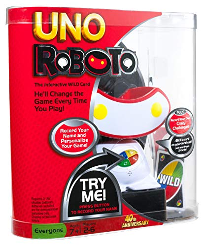 UNO Roboto Game