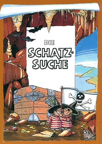 DIE SCHATZSUCHE - personalisiertes Kinderbuch als Geschenk zur Einschulung, Schulanfang