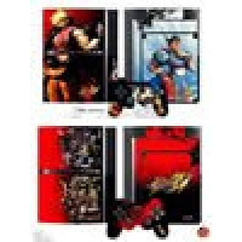 Street Fighter IV - Controller Faceplates and Console Skinz (PS3) : Playstation 3 , ML
