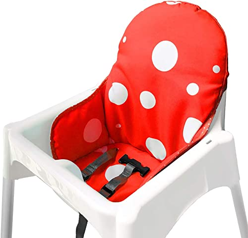 IKEA Antilop Highchair Seat Covers & Cushion by Zama, Washable Foldable Baby Highchair Cover IKEA Childs Chair Cushio...