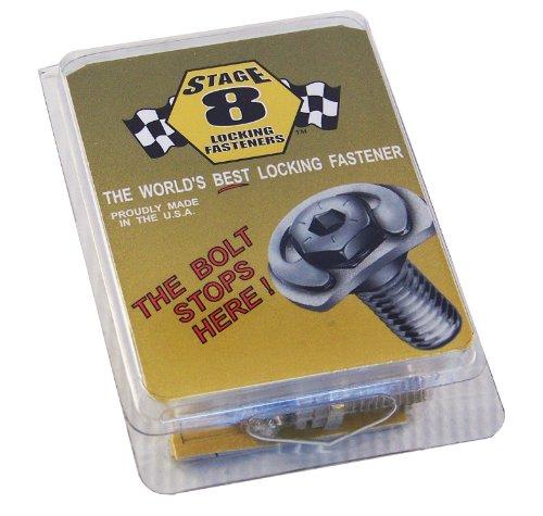 Stage 8 - 8916 MOPAR 4.7, 5.7, 6.1 Liter Hemi V8 Header Bolt Kit - 8mm 1.25x25mm Bolts 6 Point DHH - Set of 17 pieces