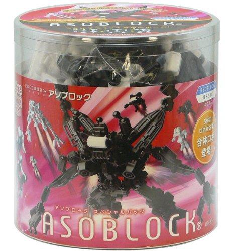 アソブロック (ASOBLOCK) BASICシリーズ スペシャルパック 合体ロボ 308ピース 403S
