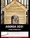 AGENDA 2021 PENSION CANINE / CHENIL POUR CHIENS ET CHATS/ AGENDA PROFESSIONNEL/CARNET DE RENDEZ VOUS/DOG SITTER