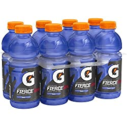 Gatorade Thirst Quencher, Fierce Grape, 20 Ounce (Pack of 8)