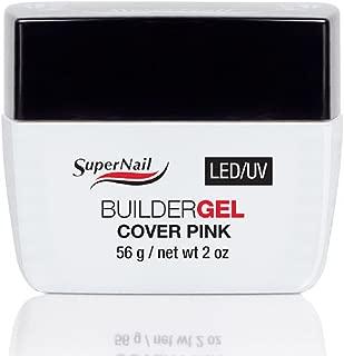 Supernail Pink LED/UV Builder Gel Cover, 2 Fluid Ounce