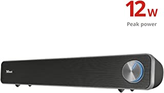 Trust Arys Soundbar USB PC Speaker, Zwart