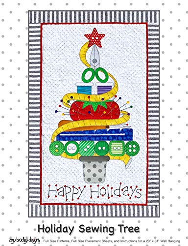 Amy Bradley Designs Holiday Sewing Tree Quilt Pattern
