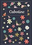 Cabotine: Agenda Personnalisé | Journal | 120 pages | A4 | Blanc |  Idées Cadeaux
