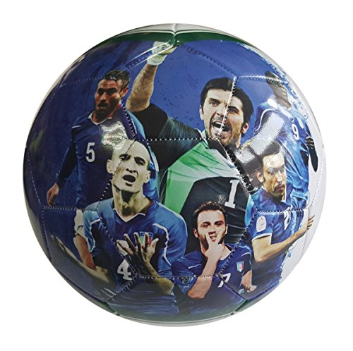 iSport Gifts #7 Ronaldo # 10 Messi Kids Soccer Ball ? Size 5 for Kids & Adult ? Premium Gift Youth Soccer Ball ? Unique Design ? Durable Soft Construction (Italy)