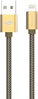 Cabo USB-Lightning C3Tech CB-210GD 2Metros Dourado