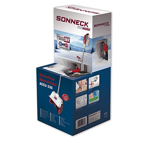 Sonneck Snowmaster Akku-Schneefräse, EA330V1 - 5