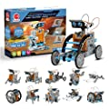 CIRO STEM Projects | 12-in-1 Solar Robot Toys, Education Science Experiment Kits for Kids Ages 8-12, 190 Pieces Building Set for Boys Girls