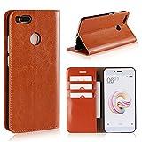 Copmob Xiaomi Mi A1 Case,Premium Leather Flip Wallet