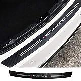 omufipw 34,5'Heckstoßstangenschutz für Autos Anti-Kratz Gummi Stoßstangenschutz Aufkleber Streifenschutz für BMW