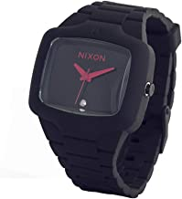 Nixon Rubber Player in All Grey/Red