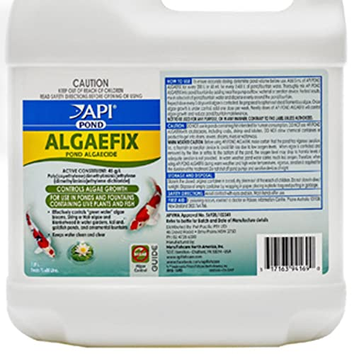 API AQP169D Pond Pool Fountain Water Algaefix Algae Growth Control for Green/String/Hair Algae and Blanketweed, 64 Ounces