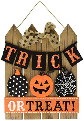 Trick or Treat Halloween Sign for Door or Home Decor