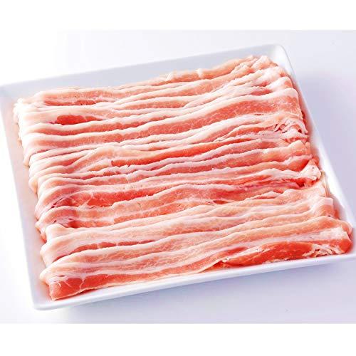 [スターゼン] 豚バラ スライス 冷凍 カナダ産 業務用 大容量 切り落とし 肉 お肉 豚肉 バラ肉 (1kg(500g×2パック))