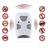 KPS Pest Control Ultrasonic Pest Repeller, Electronic Plug in Repellent Indoor for Insects