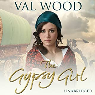 The Gypsy Girl audiobook cover art