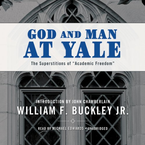 God and Man at Yale audiobook cover art