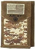 Ariat Unisex-Adult's Patriot Digital Camo Trifold Wallet, brown