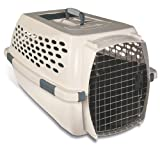 Petmate Ultra Vari Kennel, 24-Inch, For Pets 15-20 Pounds Bleached Linen