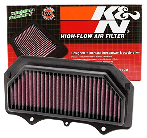 K&N Engine Air Filter: High Performance, Premium, Powersport Air Filter: Fits 2011-2019 SUZUKI (GSXR600, GSXR750, GSXR600 30 Years, GSXR600 GP, GSXR750 50th Ann. Edition) SU-7511