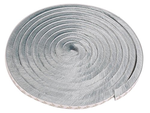 ドア 窓 用 隙間テープ グレー 毛足 5M 防風 防音 防水 すきま テープ 緩衝材