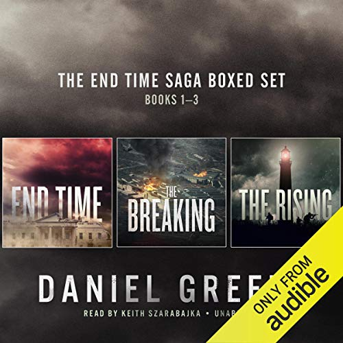 The End Time Saga Boxed Set, Books 1-3 audiobook cover art