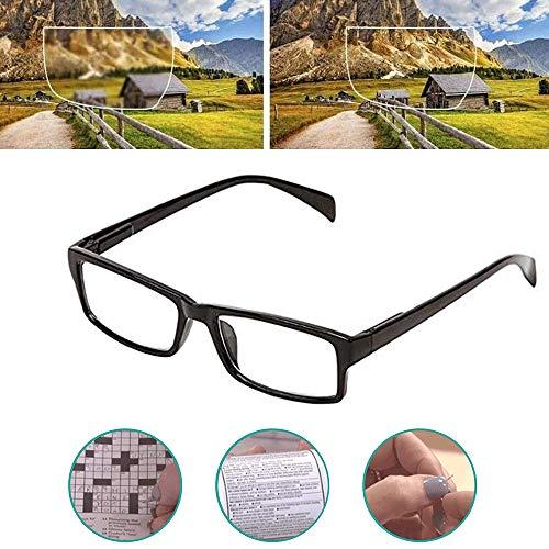 DHHSUK Dial Vision Reading Einstellbare Brille, Autofokus-Lesebrille, hochwertige Harz-Lesebrille zum Lesen, Stricken, Einfädeln (1pcs)