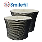 "Smilefil 2-Pack Humidifier Filter Compatible Holmes Type ""C"" Filter HWF65 & HWF65PDQ-U"