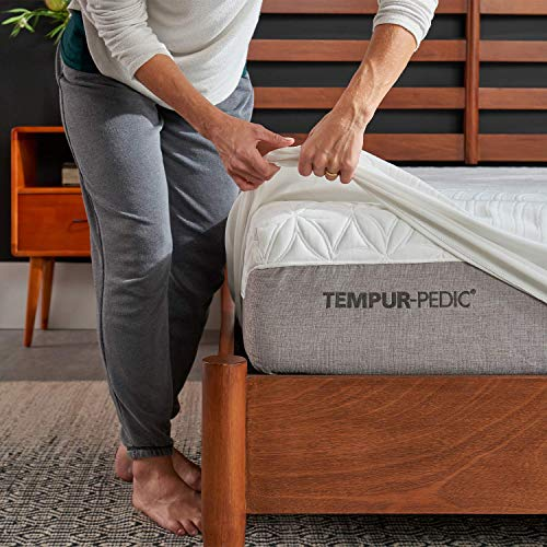 Tempur-Pedic TEMPUR-ProtectWaterproof Mattress Protector, King, White
