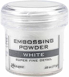 Ranger Embossing Powder, .60 oz, White